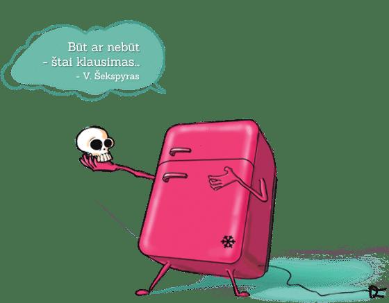 ServicePlus Šaldytuvas